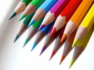 color draw colored pencils mirroring