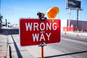Wrong way Neobrand