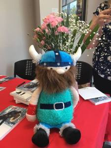 Viking doll and books