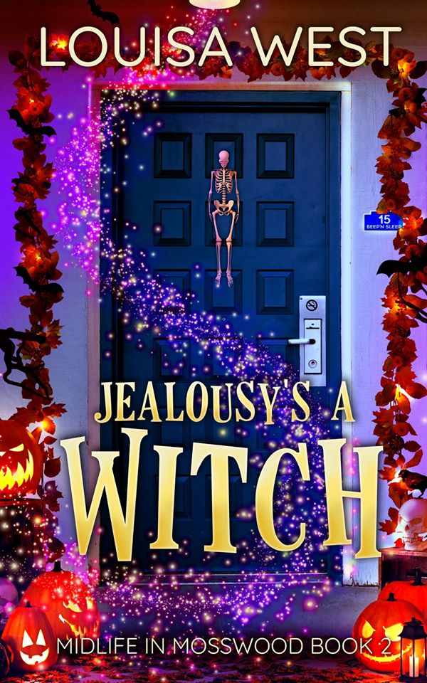 Spooky month! Meet Louisa West.She's Talking About Her New Book, Jealousy's A Witch.
