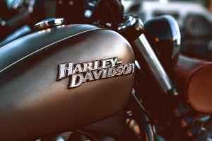 close up photography of a harley davidson motorcycle