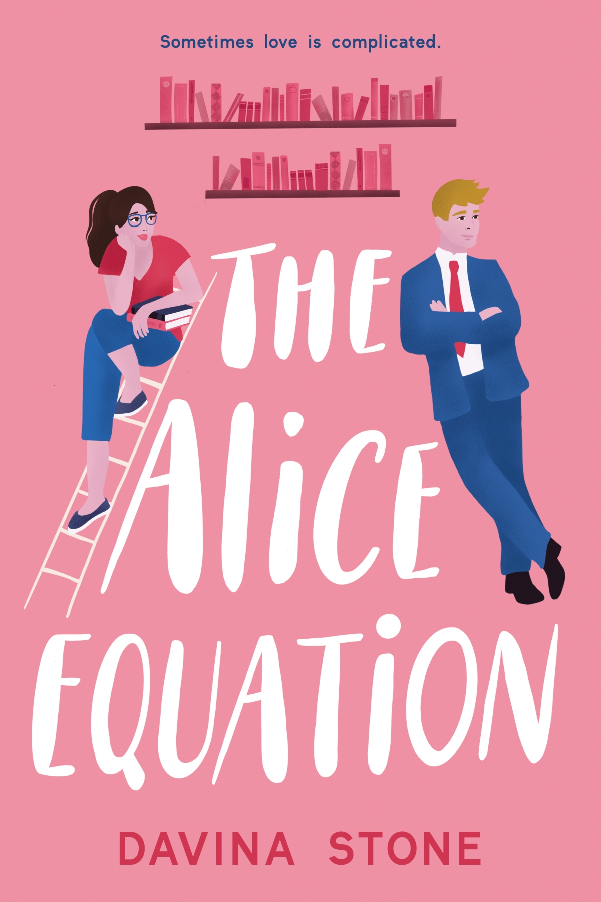 Meet Davina Stone whose book The Alice Equation is launches today!